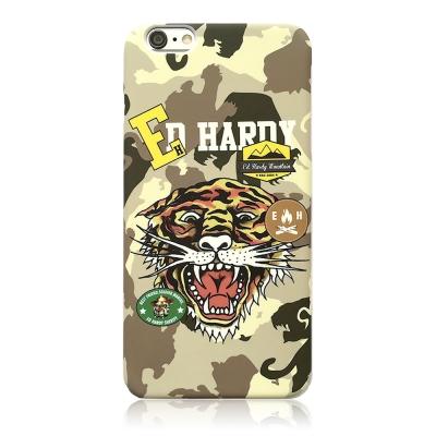 Ed Hardy iPhone 7 Plus/8 Plus (5.5吋)亮面保護殼-趣味迷彩老虎
