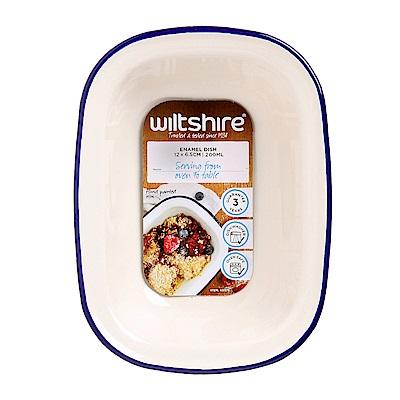 澳洲 WILTSHIRE 手工方形烤盤200ML-藍