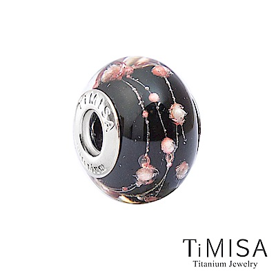 TiMISA 黑魔女(11mm)純鈦琉璃 墜飾串珠