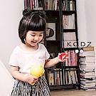 東京著衣-KODZ 酷琪琪聯名親膚極簡素色棉質上衣-童-S.M.L(共二色)