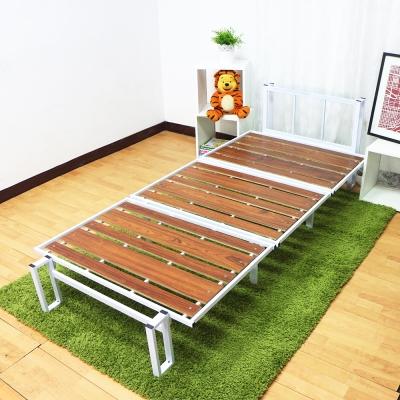 KOTAS-簡約時尚高質感鋼管床架-單人