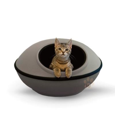 寵喵樂-極簡風格兩用寵物窩LWF-2989-GRY灰色