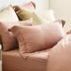 Cozy inn 簡單純色-梅子咖-200織精梳棉枕頭套-2入 product thumbnail 1