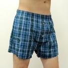 BVD 全棉平口四角褲(蘇格蘭紋紳士綠)