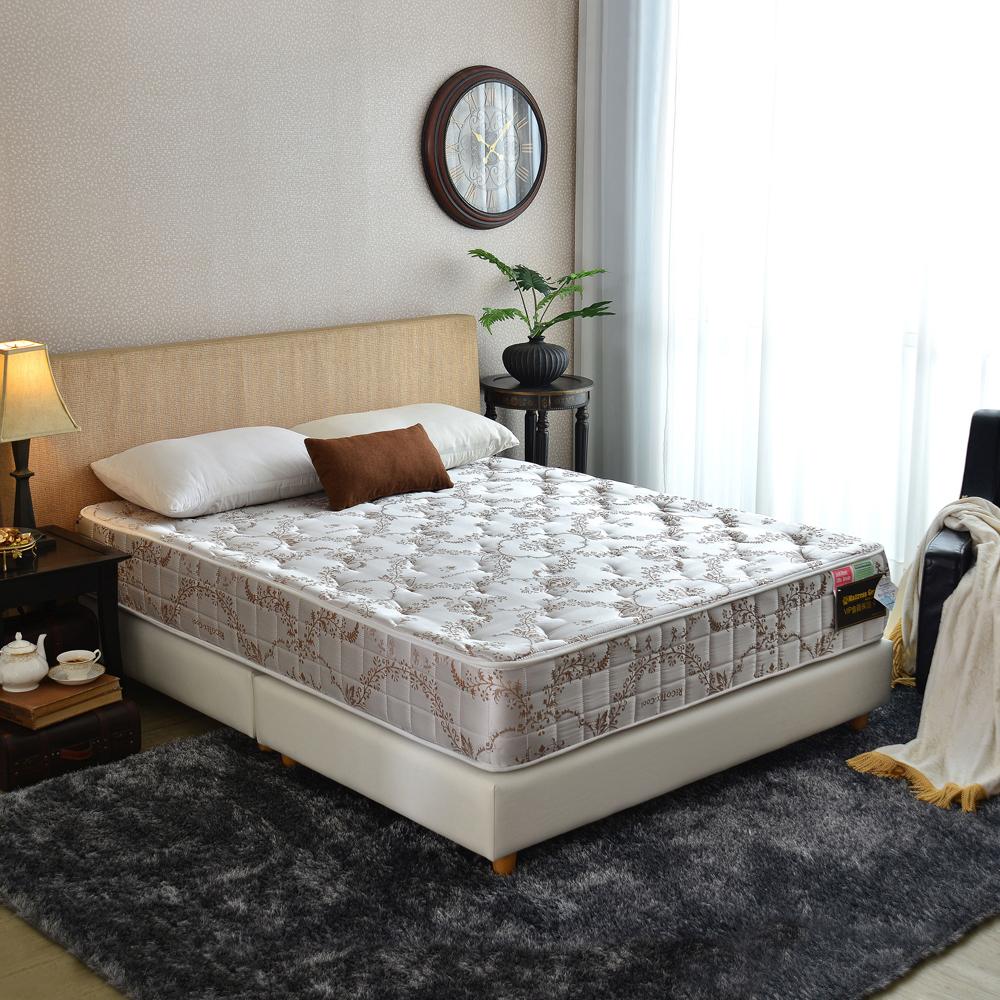 Ally愛麗 智慧涼感-防蹣抗菌蜂巢獨立筒床墊-雙人加大6尺