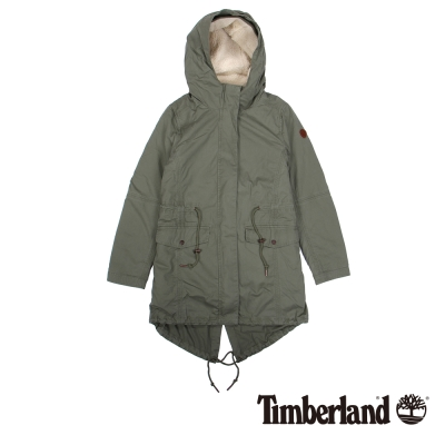 Timberland 女款大地色Mt Mansfield 3合1連帽外套
