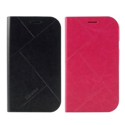 Miravivi Samsung GRAND Neo側立式簡約壓紋皮套