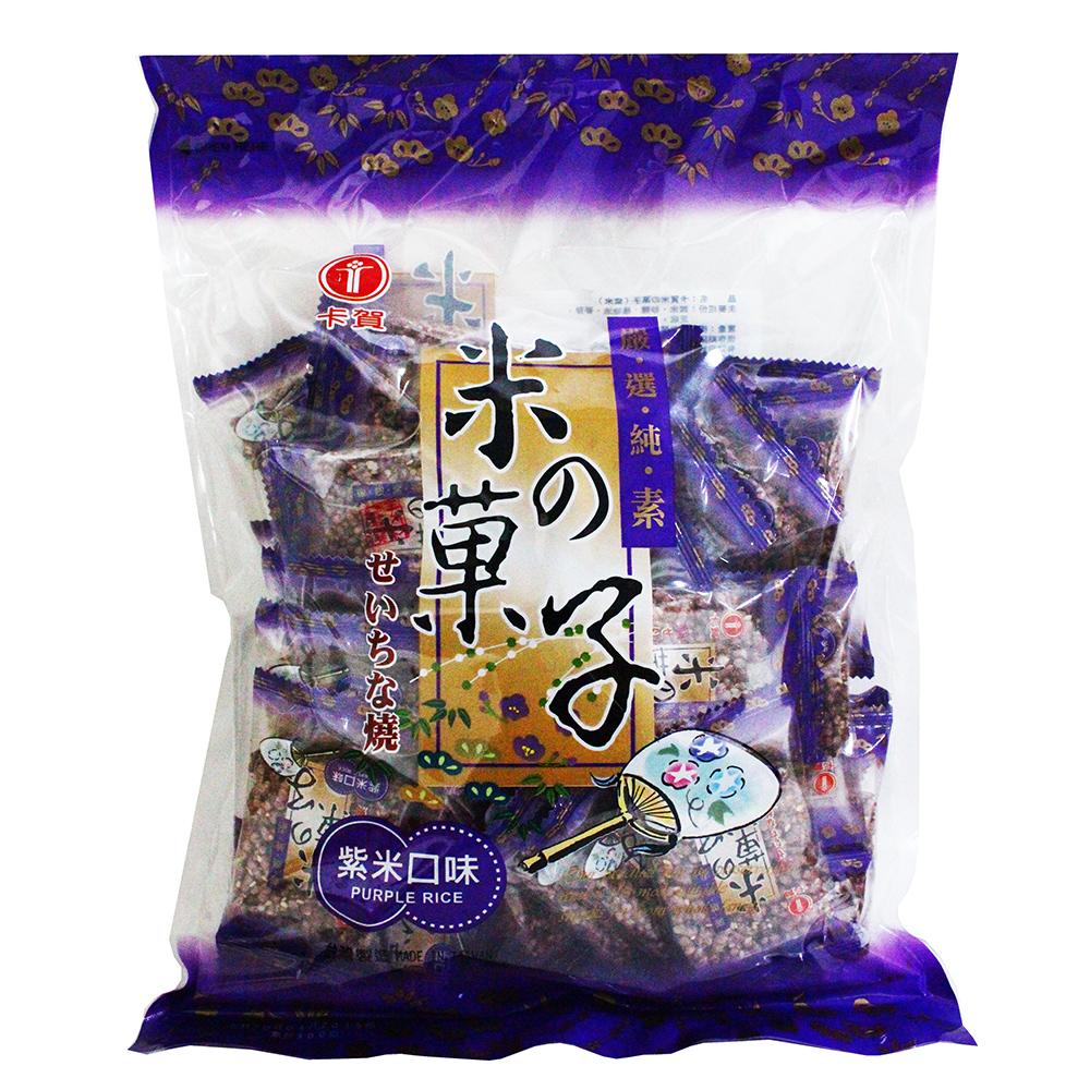 卡賀 米之果子紫米口味(300g)
