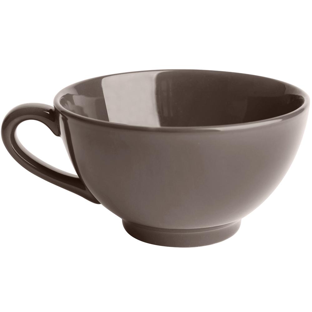 EXCELSA Trendy陶製湯杯(深褐450ml)