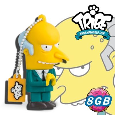 義大利TRIBE-辛普森一家 8GB 隨身碟 - 郭董(MR.BURNS)