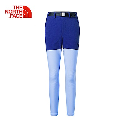 The North Face北面女款藍色輕便透氣休閒長褲