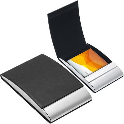 REFLECTS Vannes直式名片盒(黑)