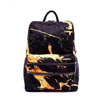 IPC雙肩後背包-金色大理石紋