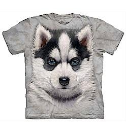 摩達客 美國進口The Mountain 小哈士奇犬 純棉環保短袖T恤