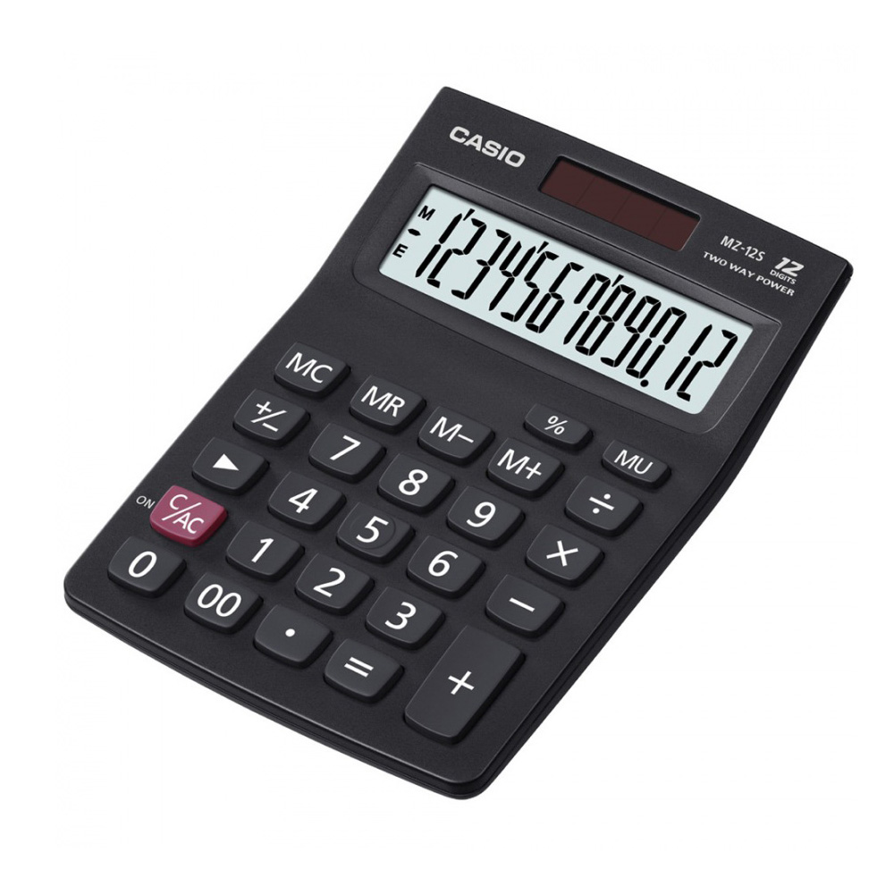 CASIO卡西歐12位數商務系列計算機  (MZ-12S)