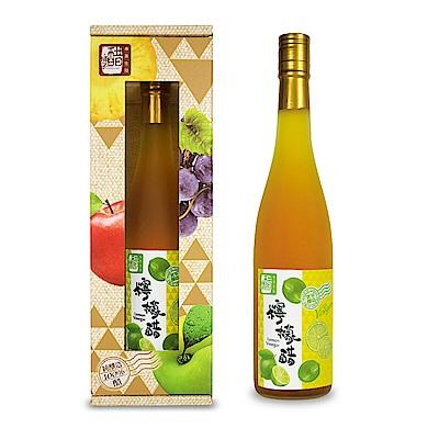 醋桶子 單入果醋禮盒組-檸檬醋(600ml/瓶)