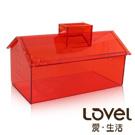 【Lovel】加拿大設計經典家飾-面紙盒/紙巾盒(陽光橘)