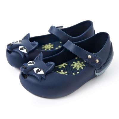 MINI MELISSA頑皮小狐狸童鞋-藍