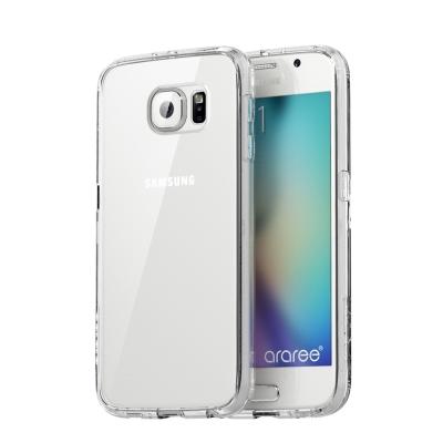 Araree-Galaxy-S6-Edge-防摔邊框透明殼-正韓公司貨