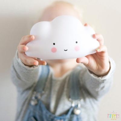 A Little Lovely Company 荷蘭 雲朵款療癒小夜燈-小白雲