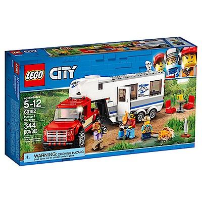 LEGO樂高 城市系列 60182 皮卡車&露營車