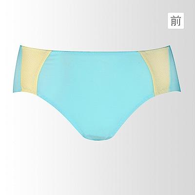 黛安芬-動生活運動系列平口內褲 M-EL(晴空藍)