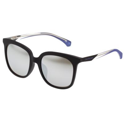 Calvin Klein- 水銀面中性款 太陽眼鏡(黑色)CKJ826SAF