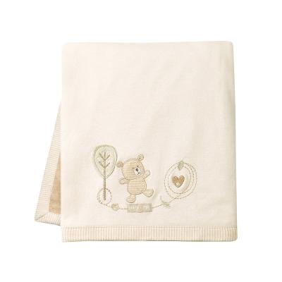 英國「Natures Purest」天然有機棉-棉絨雙面大被(BEHM 0060650 )