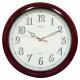 超級夜光靜音紅木掛壁時鐘 0820 product thumbnail 1