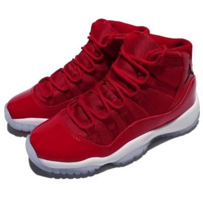 Nike 休閒鞋 Air Jordan 11代 BG 女鞋