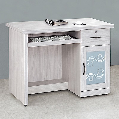 Boden-維卡斯3.5尺電腦書桌/ 工作桌-105x60x81cm