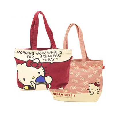Sanrio HELLO KITTY帆布手提袋