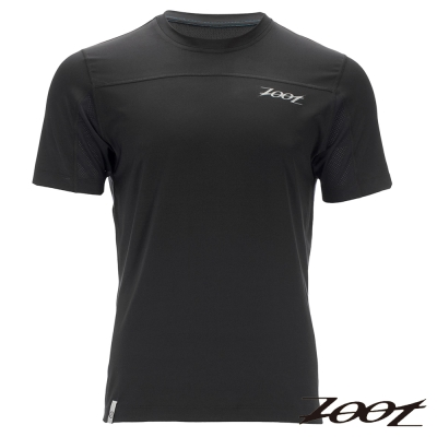 ZOOT 頂級極致型凍感運動上衣(男)(冰鑽黑) Z1604024