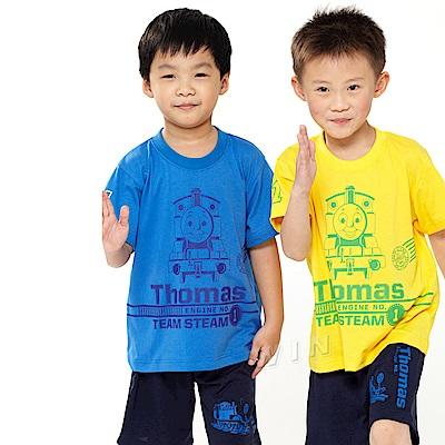 湯瑪士小火車 兒童彩色短袖-混色3件組-MIT(TH1207)
