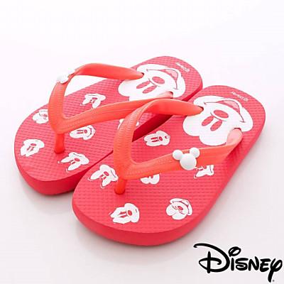 Disney迪士尼-Mickey輕便拖鞋-FO64710紅(女段)