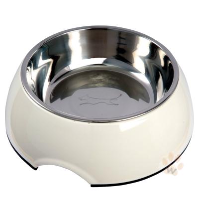 魔力繽紛 圓形寵物碗 顏色隨機小號 1入