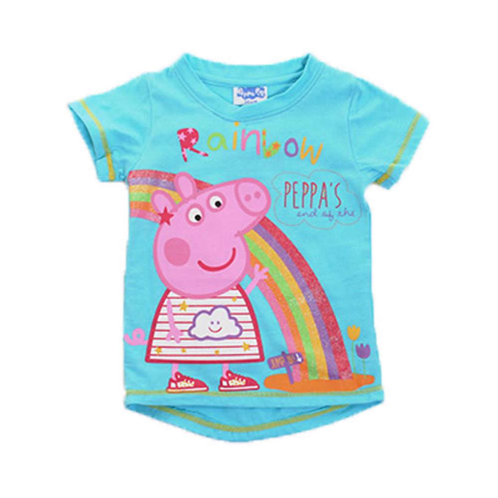 粉紅豬小妹短袖T恤 k50107