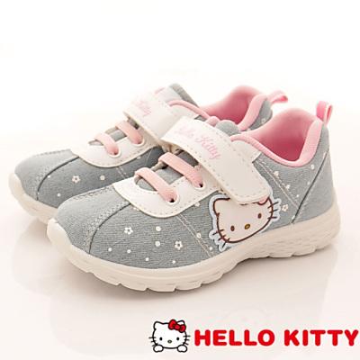 HelloKitty童鞋 減壓輕量運動鞋 17465水(中大童段)