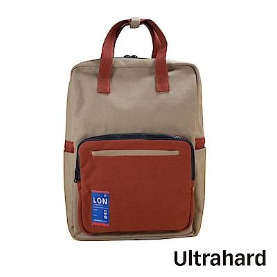 Ultrahard Traveler Destn後背包-倫敦(卡其紅)