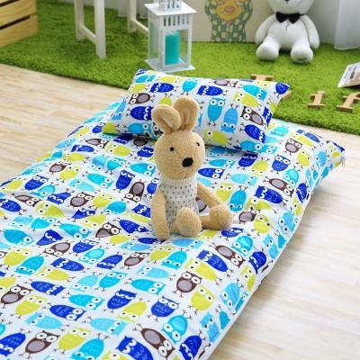 IN HOUSE-貓頭鷹派對-200織紗精梳棉-兒童睡袋