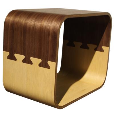 ROSA羅莎   古特雙色茶几/小方櫃/置物櫃