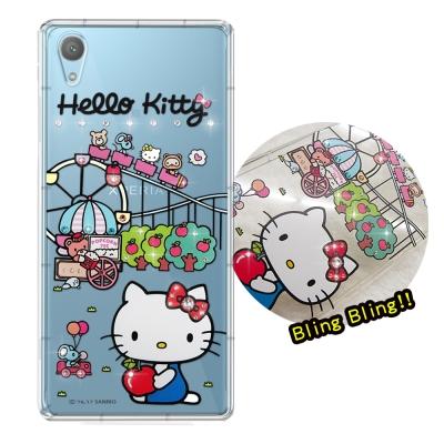正版凱蒂貓 SONY Xperia XA1 Plus 夢幻童話 彩鑽氣墊手機殼(...