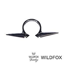 Wildfox Couture 美國品牌 Classic Spike 古典銀灰色鉚釘戒指
