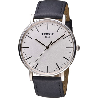 TISSOT EVERYTIME Big Gent 大錶徑時尚錶-白/42mm