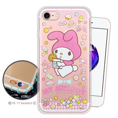 三麗鷗授權 My Melody iPhone 8/iPhone 7空壓氣墊手機殼...