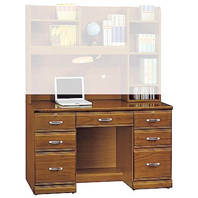 H&D 樟木實木4.2尺書桌 (寬127X深59X高76cm)