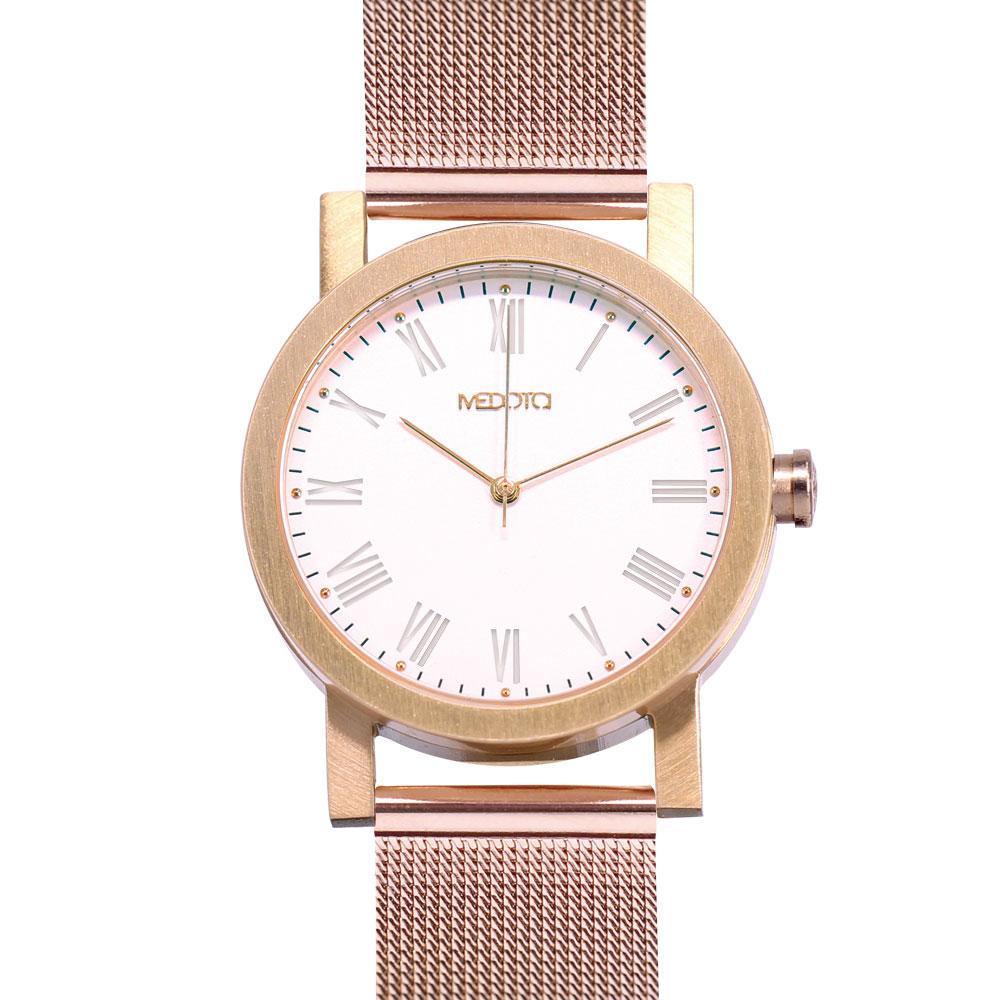 MEDOTA 極簡輕薄手錶系列 – 女錶 玫瑰金/30mm