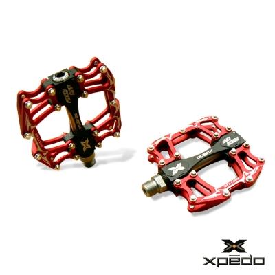XPEDO XMX17 多功能鋁合金造型踏板 紅
