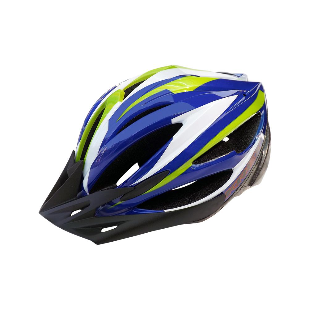 KREX CS-1800 拉風款自行車專用安全帽 藍色