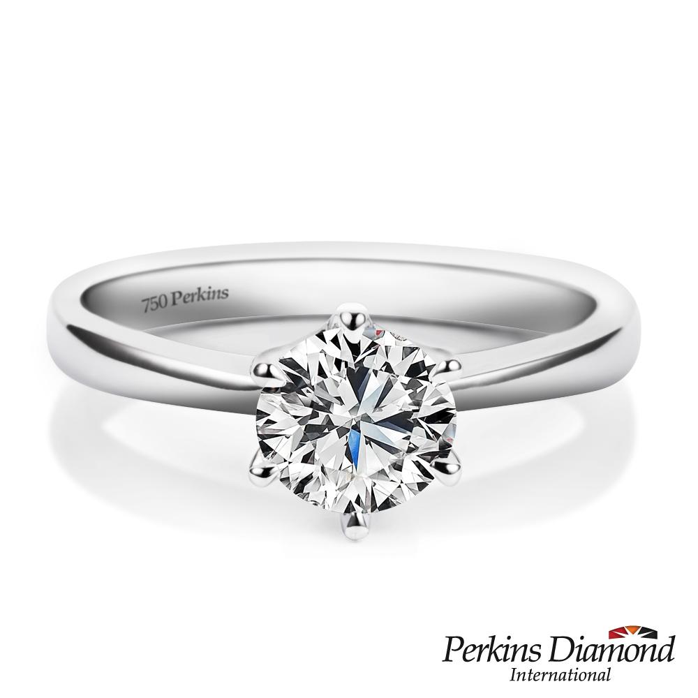 PERKINS 伯金仕 - GIA 經典六爪系列 1.01克拉鑽石戒指